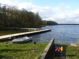 Działka inwestycyjna nad jeziorem Niesłysz